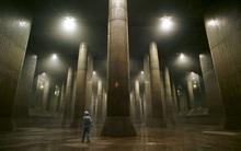 """""""Điện thờ Pantheon"""" dưới lòng đất Tokyo: Hệ thống thoát nước vĩ đại mang niềm tự hào của Nhật Bản"""