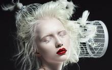 """Mang diện mạo của """"công chúa tuyết"""", người mẫu bạch tạng nước Nga lại dành đam mê cháy bỏng cho văn hóa Nhật"""