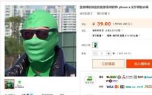 Cười không ngậm được miệng với chiếc mặt nạ ăn theo iPhone X đang được rao bán ở Trung Quốc