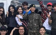 2 người tình màn ảnh và tình cũ cùng ở trong quân ngũ, nhưng Yoona chỉ đến thăm duy nhất 1 người