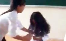 Nữ sinh lớp 7 ở Hà Nội bị bạn đánh dã man ngay trên bục giảng