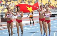 Đánh bại Thái Lan, điền kinh Việt Nam giành HCV lịch sử