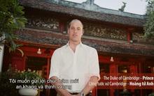 Hoàng tử Anh gửi lời chúc năm mới bằng tiếng Việt ấm áp đến người dân Việt Nam