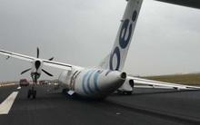 Máy bay chở 59 người gãy càng khi hạ cánh ở sân bay Hà Lan