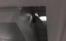 Cháu bé rơi từ độ cao 3 mét xuống hầm để xe
