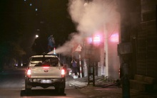 Hà Nội: Dùng vòi rồng phun thuốc diệt muỗi phòng dịch sốt xuất huyết trên toàn thành phố