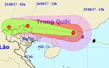 Bão số 6 đã đổ bộ vào Trung Quốc, sẽ ảnh hưởng bao trùm toàn miền Bắc nước ta