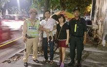 Cảnh sát 141 giúp bé gái 2 tuổi bị lạc ở Hồ Gươm về với gia đình