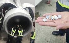 Trung Quốc: Một bà cụ ném tiền xu vào động cơ để cầu cho máy bay không có gián