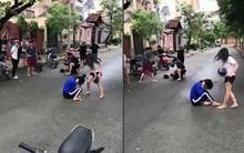 Clip cô gái bị bạn đánh vỡ mũ bảo hiểm ở TP.HCM: Do mâu thuẫn quan hệ đồng tính nữ