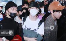 Mỹ nam thế hệ mới Taeyong cùng dàn trai đẹp NCT 127 đổ bộ sân bay Nội Bài giữa biển fan Việt