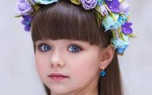 """Vẻ đẹp hút hồn như thiên thần của mẫu nhí 6 tuổi được phong là """"cô bé xinh nhất thế giới"""""""