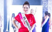 Á hậu Phương Lê bất ngờ rút lui khỏi cuộc thi Hoa hậu Quý bà Hòa bình Thế giới 2017