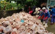 """Đà Nẵng: Kinh hoàng phát hiện 15 tấn phế phẩm động vật bốc mùi hôi thối sắp """"lên bàn nhậu"""""""