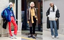 Street style siêu đẹp của giới trẻ Hàn toàn những item quen thuộc mà bạn đang có sẵn trong tủ đồ