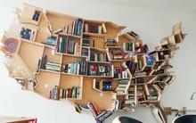 16 mẫu giá sách đầy sáng tạo dành cho người thích đọc sách