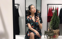 Khoe ảnh selfie sang chảnh, Hà Tăng để lộ thân hình mảnh mai lộ rõ xương ngực