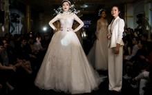 Hoa hậu Kỳ Duyên đẹp như công chúa tuyết trong show diễn của NTK Lek Chi