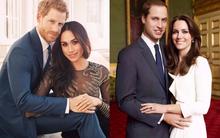"""Chụp ảnh đính hôn, công nương tương lai Meghan Markle """"chơi lớn"""" chọn váy hàng hiệu đắt gấp 241 lần váy của Kate Middleton"""