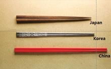 Cùng là đũa, nhưng sao đũa của người Nhật, người Hàn, người Trung Quốc lại khác nhau đến thế?