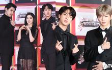 Khoảnh khắc quý tộc trên thảm đỏ KBS Gayo Daejun gây sốt: Khi nữ thần nam thần Kpop tụ hội hết vào một khung hình