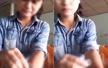 Xác minh clip nữ sinh 16 tuổi dùng dao lam rạch tay để níu kéo người yêu