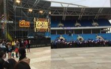 Clip: Trời lạnh, fan hâm mộ xếp hàng ngay ngắn và trật tự trước đêm diễn MBC Music K-Plus Concert