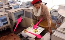 """5 vật dụng """"bẩn"""" nhất trên máy bay được các nhân viên hàng không thế giới tiết lộ"""