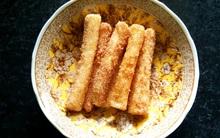 Hoá ra, đây là cách làm bánh snack trong dẻo ngoài giòn của người Hàn mà ai cũng mê