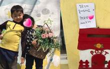 """Sao nhí """"Superman Returns"""" Song Minguk diễn lại đám cưới dễ thương ở trường mẫu giáo"""