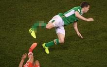 Cân nhắc trước khi xem: Pha gãy chân kinh hoàng của cầu thủ Ngoại hạng Anh