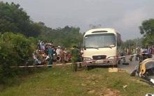 Nữ sinh lớp 11 trên đường đi học bị xe khách cuốn vào gầm tử vong thương tâm