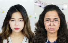 """Nữ du học sinh Việt trổ tài hóa thân thành bà Phương trong """"Sống chung với mẹ chồng"""" xuất sắc"""