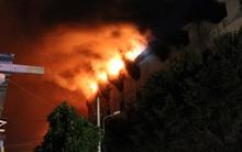 Vụ cháy Công ty may Kwong Lung – Meko: Lửa bùng phát trở lại