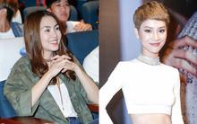 Tăng Thanh Hà xuất hiện xinh đẹp, thu hút sự chú ý tại buổi ra mắt MV của bạn thân Trà My Idol