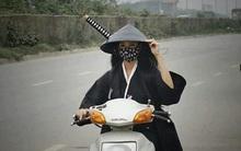 Hé lộ dung nhan tuyệt trần của nữ hiệp cưỡi xe máy trên phố
