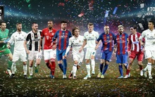 Cristiano Ronaldo lần thứ 11 góp mặt ở đội hình tiêu biểu UEFA