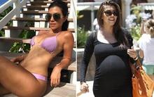 Nhà Kardashian toàn mỹ nhân: Chị cả Kourtney đã U40 và sinh 3 con vẫn có vòng eo gợi cảm