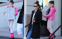 """Mặt đã xinh mà chân còn thon dài, Suri Cruise liệu sẽ trở thành """"Gigi Hadid tương lai""""?"""