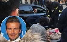 Nghĩa cử cao đẹp của David Beckham khi thấy cụ già bị ngã khiến ai cũng cảm phục