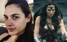 """Để mặt mộc hoàn toàn, mỹ nhân """"Wonder Woman"""" có còn đẹp như trong phim?"""
