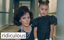 """""""Lố bịch quá"""" - Kim bị chỉ trích dữ dội vì hóa thân thành Đệ nhất phu nhân Kennedy phiên bản da nâu"""