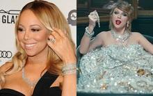 Nhẫn đính hôn của Mariah Carey có giá trị ngang cả bồn tắm kim cương 220 tỷ đồng của Taylor Swift!