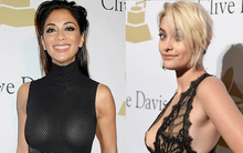 Loạt sao nữ thi nhau khoe vòng 1 gợi cảm trên thảm đỏ tiệc tiền Grammy 2017