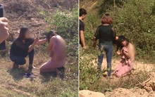 Cặp kè với đàn ông đã có vợ, người phụ nữ bị đánh tơi tả xé áo, bắt quỳ gối xin lỗi giữa đường