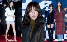 """""""Quân đoàn"""" SNSD xinh đẹp đến ủng hộ Yoona, Sunny lộ mặt biến dạng"""