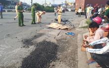 Sài Gòn: Nữ sinh tử vong thương tâm sau khi bị container tông trúng, kéo lê hàng chục mét trên đường