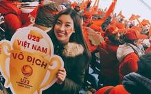 Hoa hậu Đỗ Mỹ Linh bị thất lạc giấy tờ khi có mặt để cổ vũ đội tuyển U23 tại Trung Quốc