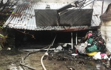 Cháy nhà giữa trời mưa, 1 cụ bà tử vong, nam thanh niên vào cứu bị điện giật chấn thương