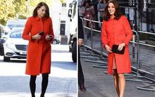 """Các """"thánh soi"""" đã ra tay và tia được Công nương Kate Middleton cùng mẹ đẻ rất hay mặc đồ giống nhau"""